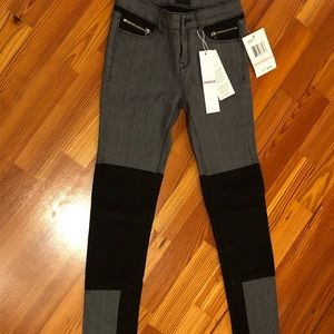 Hudson jeans, tight and skinny, grey
